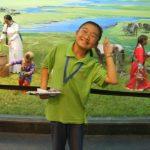 内モンゴル博物院の子供ガイドなどなど