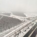 雪の北海道