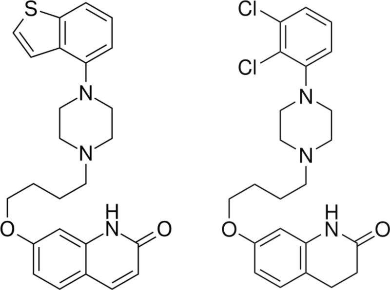 ブレクスピプラゾール(新しい薬、REXULTI®)とアリピプラゾール(古い薬、エベリファイ®)