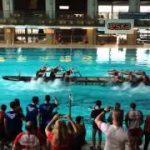 プールでもできる本格的なドラゴンボート競技