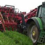 大規模ニンジン収穫マシンの動画
