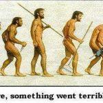 COMTの遺伝子多型で決まる能力、人類進化図