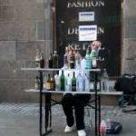 Mozart – Eine Kleine Nachtmusik with bottles