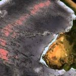 地球から海水を抜いたシミュレーション