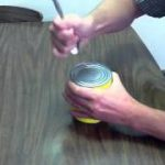 缶切りなしで缶詰をあける方法、 ホッコリ動画?
