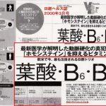 葉酸・ビタミンB12投与、アルツハイマー改善?