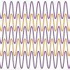 スイカを食べる猫(小猫吃西瓜)、wave illusion