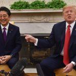 ノーベル平和賞に「安倍氏から推薦」=トランプ米大統領が会見で言及