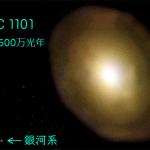 宇宙最大の銀河は、われわれの銀河系よりどのくらい大きい?