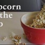 トウモロコシをそのままポップコーンにする方法