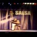 75歳のサルサ・ダンサー