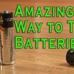 アルカリ電池の生死を判断する驚くほど簡単な方法