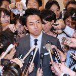 自民総裁選 進次郎氏、制止され早期表明断念