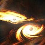あるブラックホール衝突のエネルギー量は、毎秒1000兆個以上の原爆を138億年間爆発させるのとほぼ同じ…想像できます?